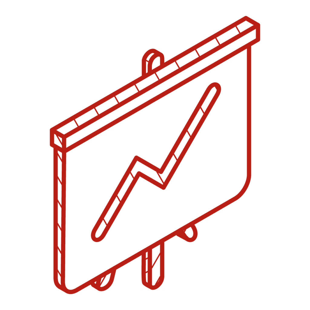 vatint-icon-flip chart with graph